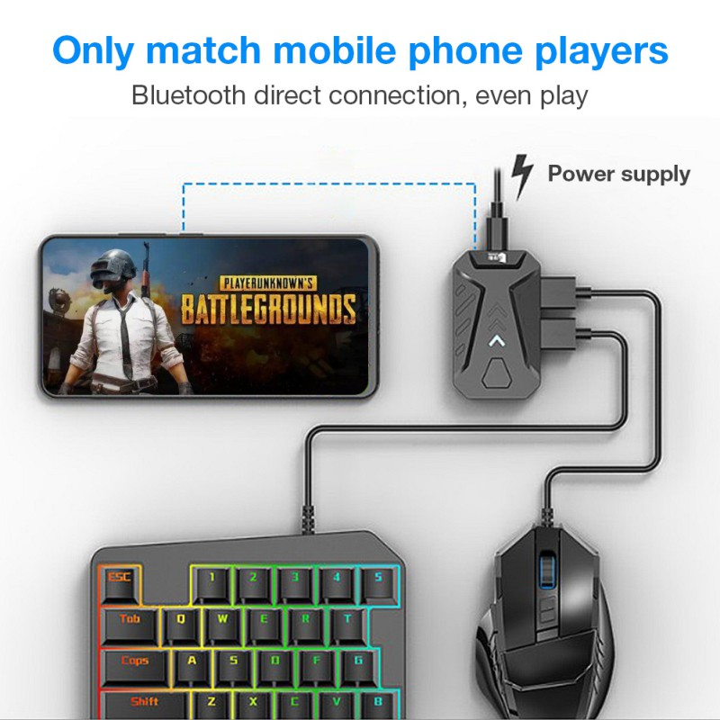 GAMWING MIX Keyboard Mouse Converter Bluetooth Adapter Dock Gamepad New Game Converter