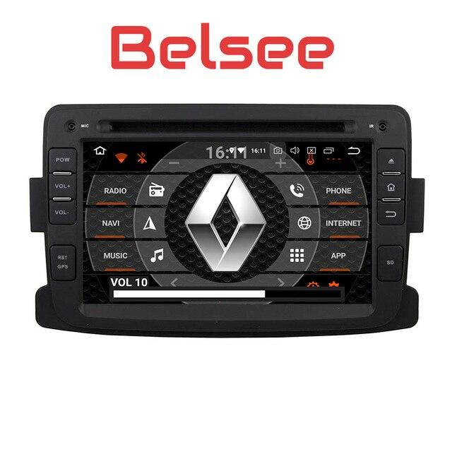 Belsee Android 8,0 DVD Радио Navi Автомобильный мультимедийный для Renault Dacia Sandero Duster Captur Лада Xray 2 Logan 2013 2014 2015 2016