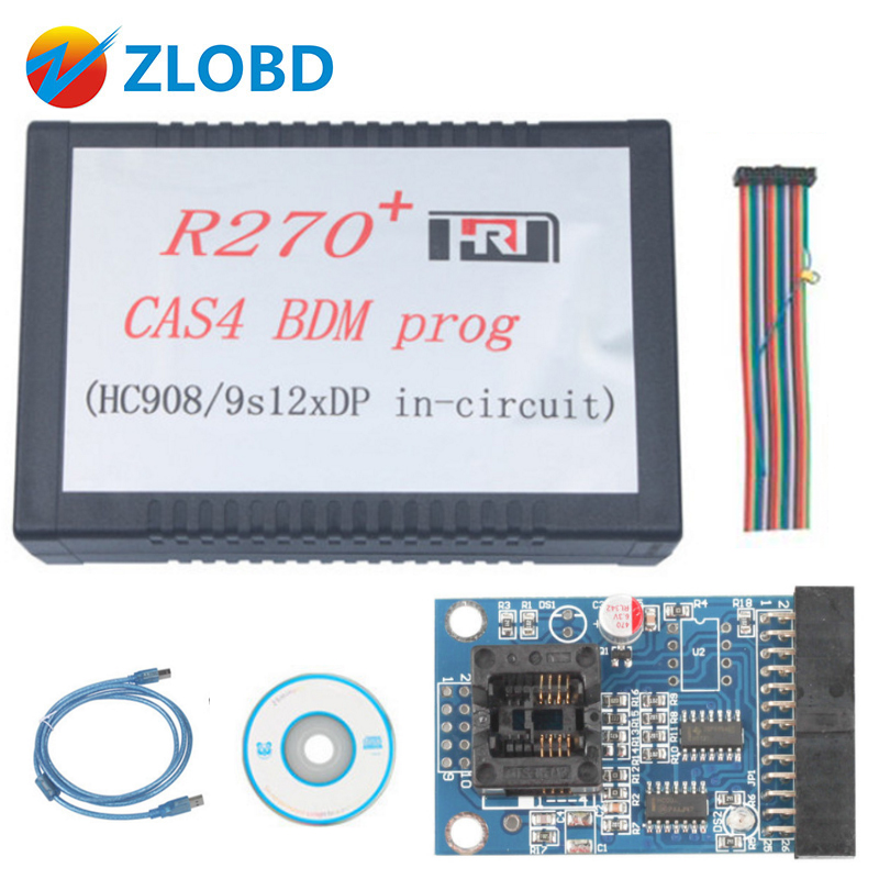 ZOLIZDA R270 Key Programmer R270 For BMW CAS4 BDM Programmer Top Rated Quality R270 Professional R270