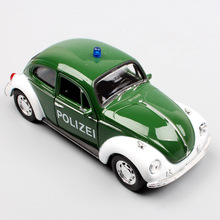 1/36 Scale brand welly small children Beetle Polizei cars Superbug Diecasts & Toy Vehicles pull back models toys gift for boys стоимость