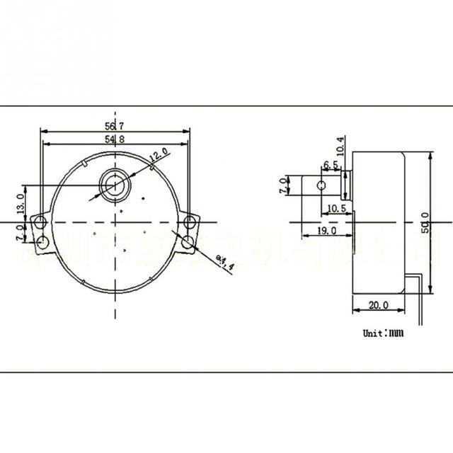 AC 220-240V Synchronous Motor 50/60Hz 4W Geared Motor CW/CCW 0.8-1RPM / 2.5-3RPM / 5-6RPM / 8-10RPM (optional)