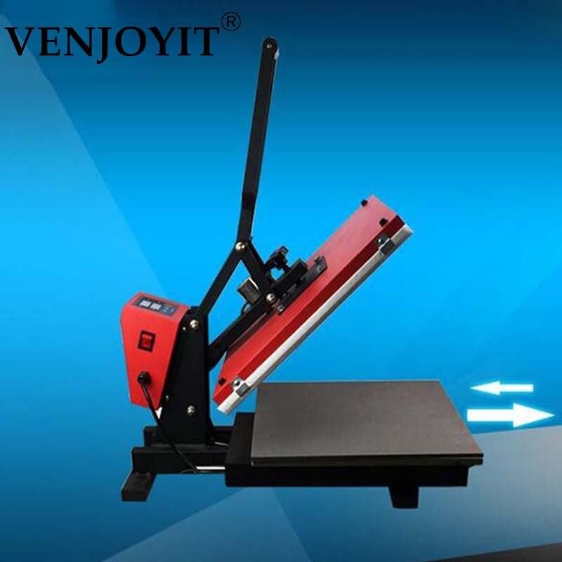 38*45 cm ouverture automatique européenne haute pression presse à chaud machine t-shirt