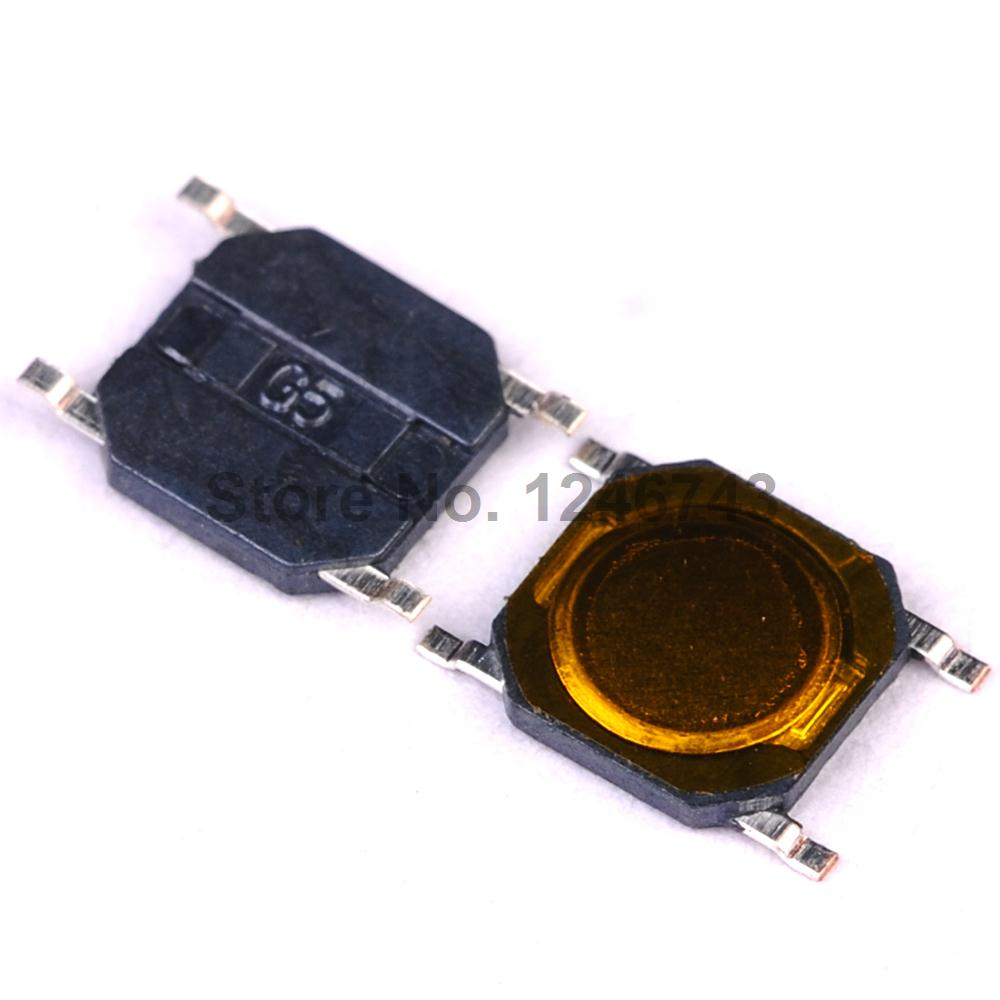 4 x 4 x 0.8mm SMT Momentary 5 PACK SMD Tactile Membrane Push Switch