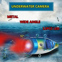 WIFI Wireless Fish Finder 12pcs White/IR LED Controlled Underwater Fishing Camera For Ocean Ice Fishing 15/30/50 Cable