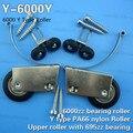 [Y-6000Y]hot sale 6000zz bearing coated sliding window roller wheel wardrobe wheel pulley