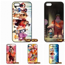 For Samsung Galaxy Note 2 3 4 5 7 S S2 S3 S4 S5 MINI S6 S7 edge The Perfect Gift Wreck it Ralph Poster Cell Phone Case Cover