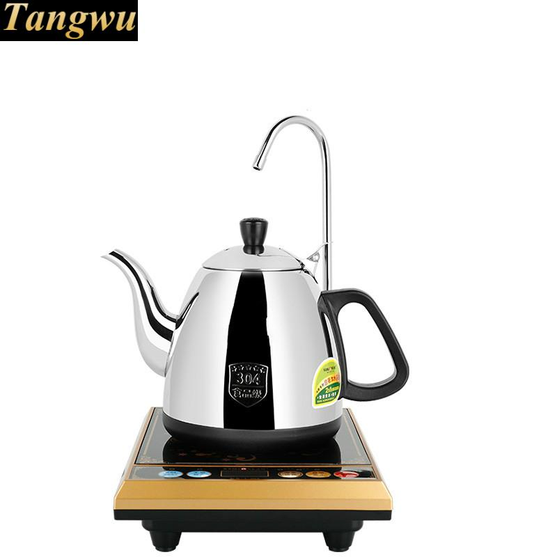 Electric teapot electric kettle automatic pumping with water heater tea set