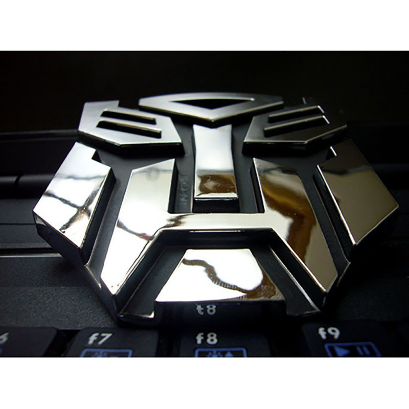 3D Car Sticker Metal Transformers For Car Auto logo Window Tail for Car Decoration Car S ...