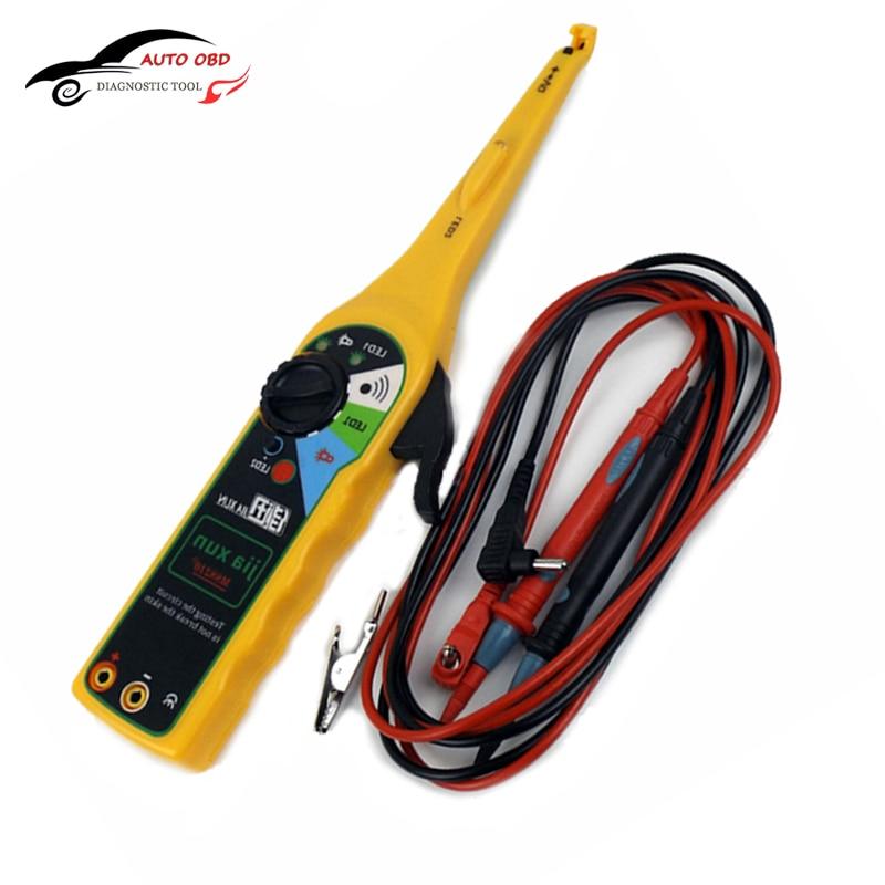 Yellow Multi-function Auto Circuit Tester Multimeter Lamp Car Repair Automotive Electrical Multimeter Diagnostic Tool Tracking  цены