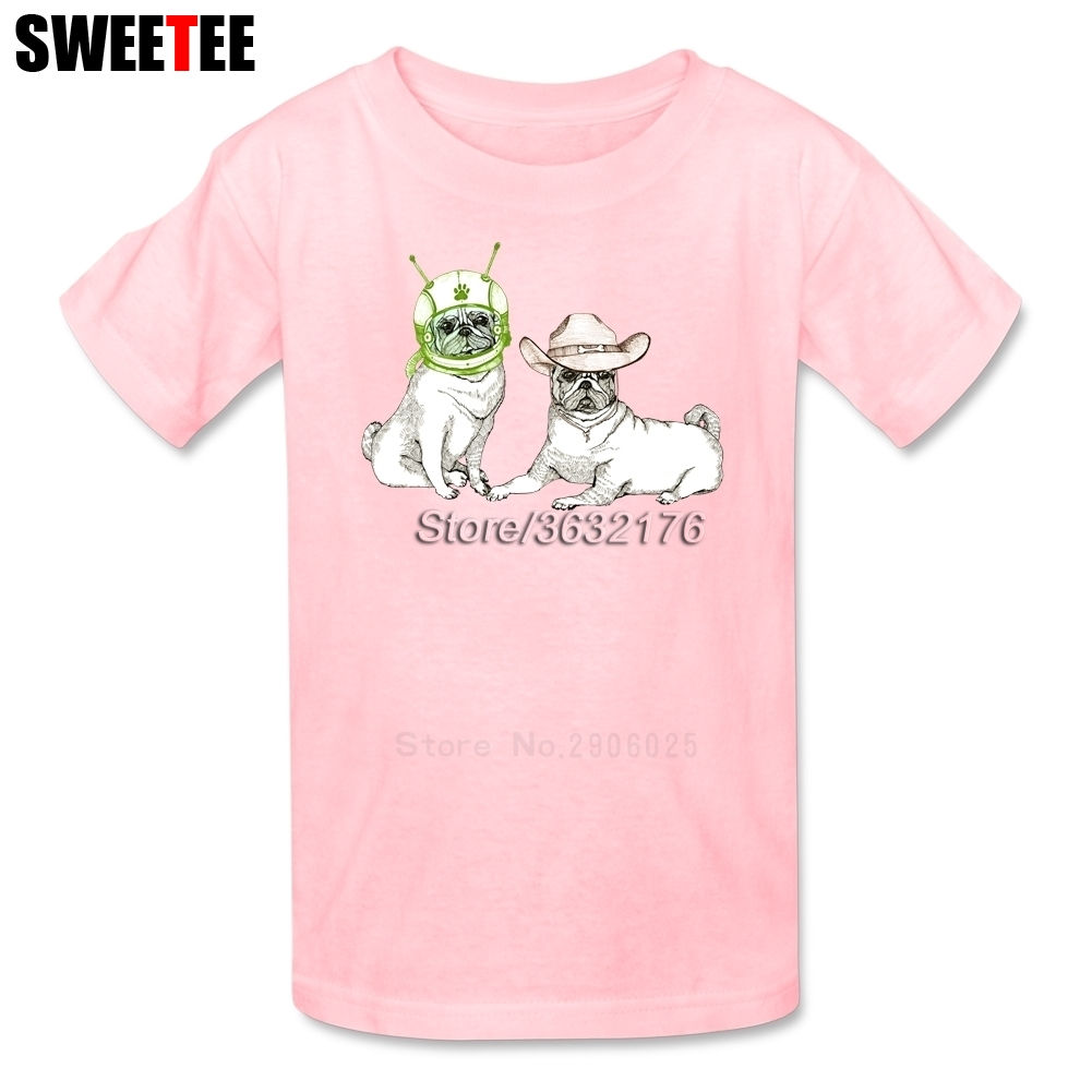 Cowboys Dog Aliens Boys Girls T Shirt Pure Cotton Short Sleeve O Neck Tshirt childrens Tees 2018 On Sale T-shirt For Baby