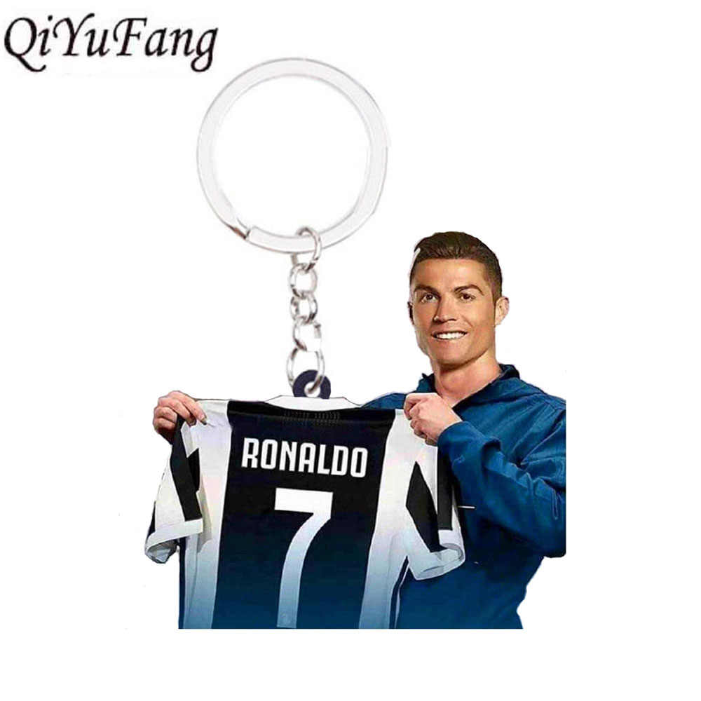 Paulo Dybala C.RONALDO Messi Keychain Toy Gift Men Sport  Football Women Loved Soccer Star Keychains CR7 Fans Bag Purse Keyring