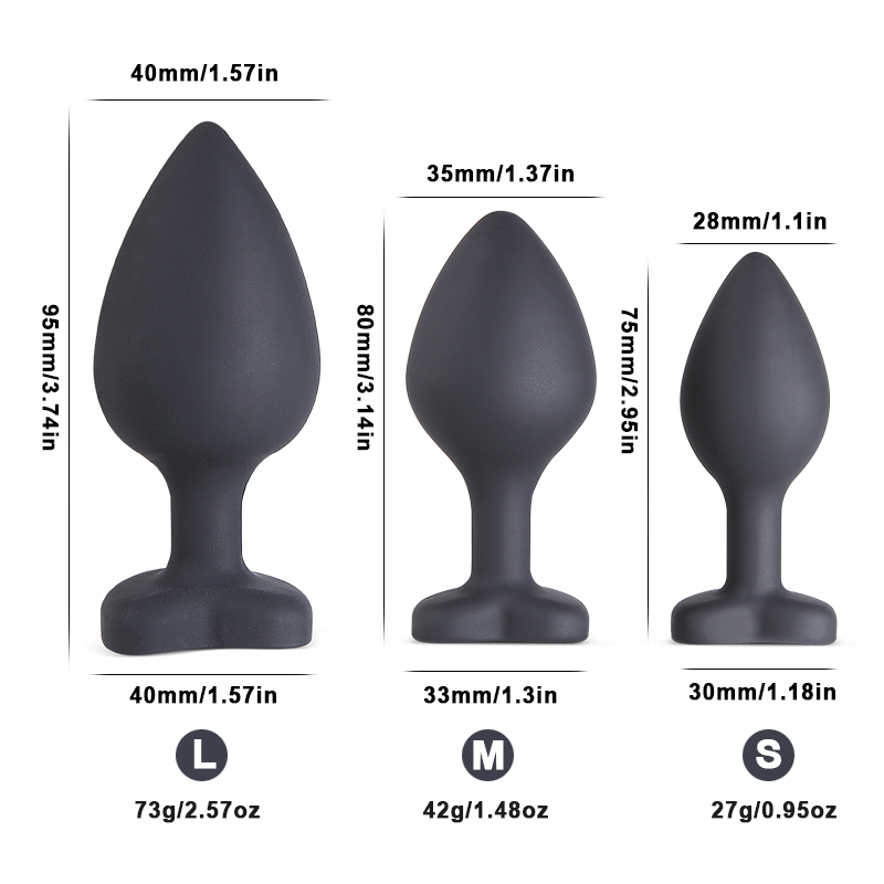 Diamond Metal Anal Plug G Spot Prostate Massager Clitoris Stimulation Butt Plugs Anus Silicone Sex Toys For Couple Erotic Toys in Vibrators from Beauty Health