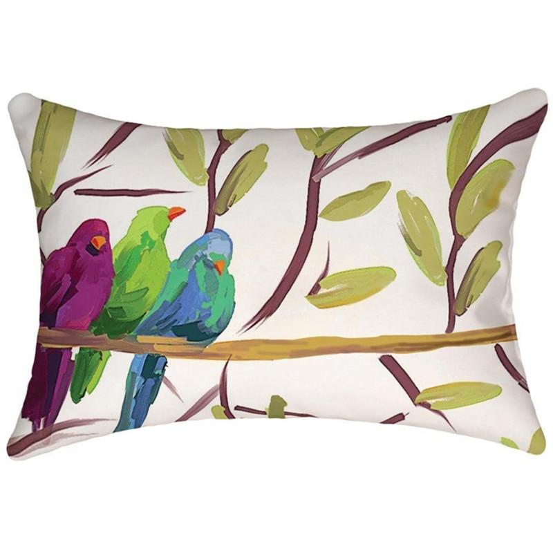 NEW 8765 Pillow Cartoon Cushion  Pillow Cushion For Office Home Decor Pillow Sofa Cushions Bird Watercolor Animals