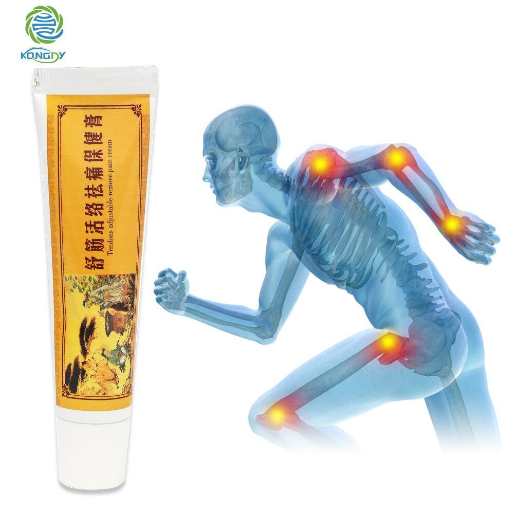 KONGDY crème analgésique soulager la douleur de la souche musculaire guérir la polyarthrite rhumatoïde douleurs articulaires/soulagement des douleurs dorsales Patch chauffant chinois