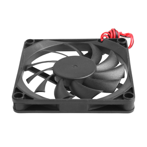 Image 5 - 12V Cooler Fan for PC 2 Pin 80x80x10mm  Computer CPU System Heatsink Brushless Cooling Fan 8010