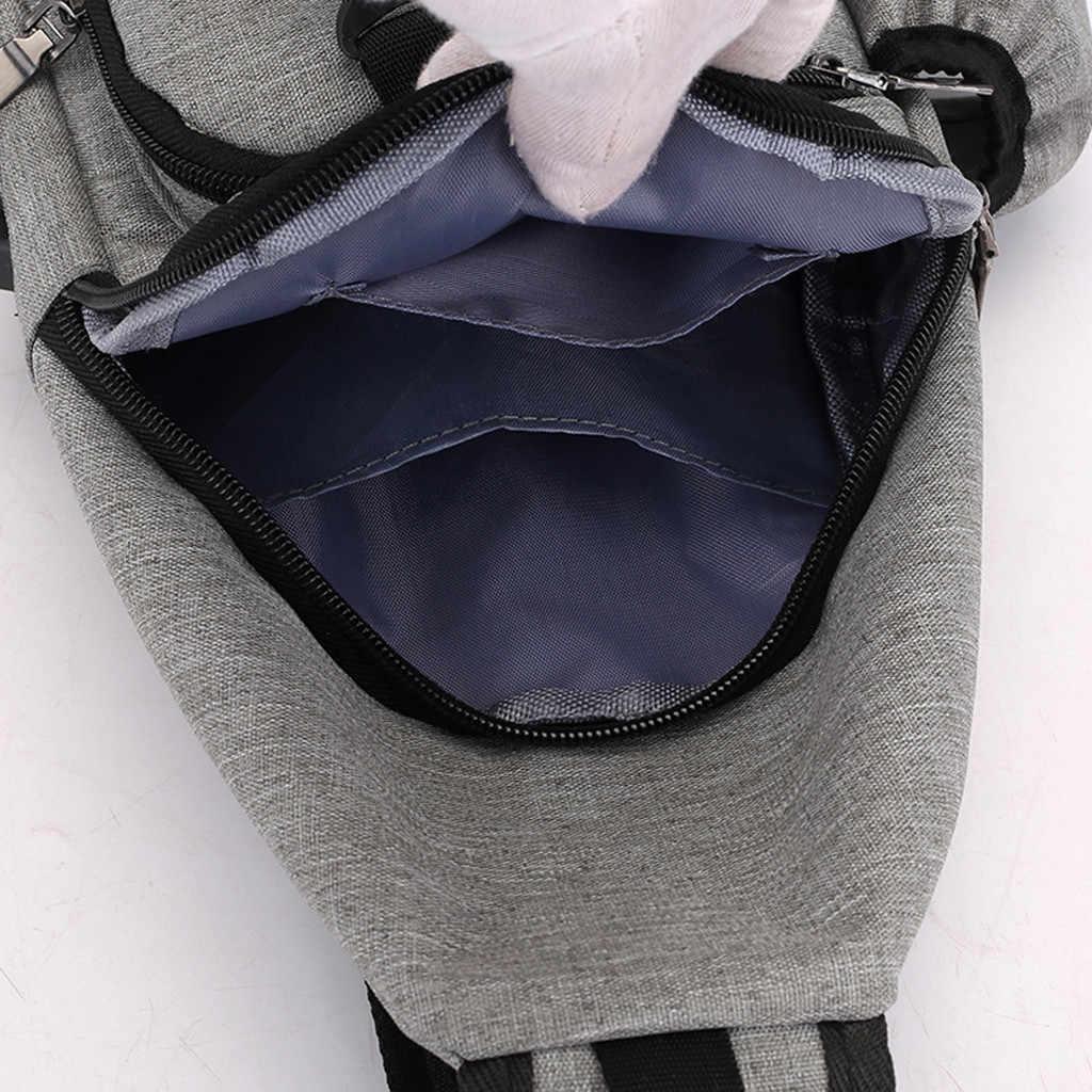 Saco Homens Sacos Crossbody Para As Mulheres 2019 Oxford Multi-Função Ao Ar Livre Saco de Desporto de Moda Mensageiro Preto sacos damskie torebki
