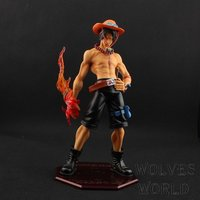 Anime POP One Piece 23CM Portgas D Ace ver1.5 PVC Action Figure Model Collection Toy Brinquedos