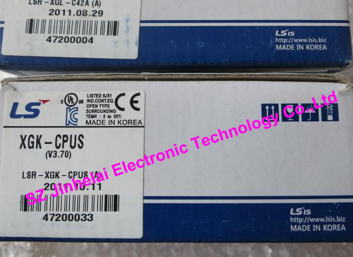 100% New and original  XGK-CPUS  LS(LG)  PLC  32K step, I/O point:3072 100% new and original g6i d22a ls lg plc input module