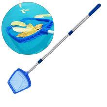 Бассейн лист сачок для чистки скиммер с телескопическим полюсом съемный для спа для искусственного пруда