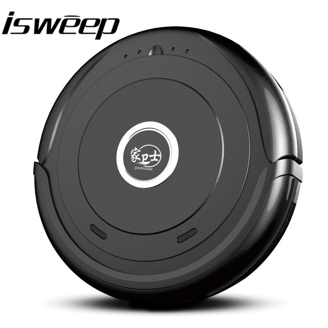 Delightful ISWEEP High Performance Smart Auto Robot Vacuum Cleaner With Dry Big Mopp  For Pet Hair
