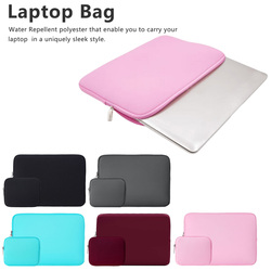 Kolorowe wodoodporne neopren owe komputer ochronny pokrowiec płaski pokrowiec na laptopa etui na laptopa pokrowiec na tablet w Torby i etui na laptopy od Komputer i biuro na