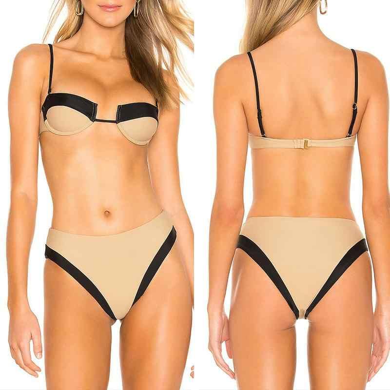 Misswim пикантное микро-бикини 2019 пуш-ап купальник женский на косточках купальный костюм летняя пляжная одежда костюм из двух предметов купальные костюмы Biquini