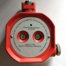 Сухой контакт взрывозащищенный двойной инфракрасный детектор пламени A705IR2 пожарное реле сигнализации выход реле неисправности выход IR2 EXdIICT6
