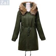 2017 New Winter New cotton-padded clothes large size cotton women Parkas Fur collar long women cotton jacket wholesale 928