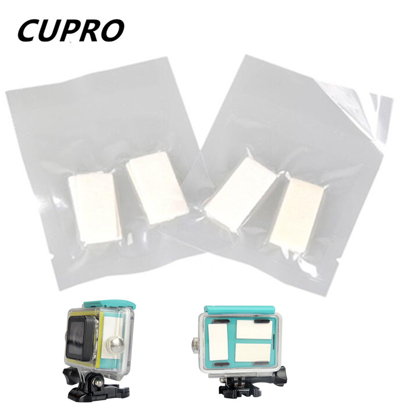Go Pro Anti Fog Inserts Housing Case Recycle Drying Anti-Fog Inserts for GoPro Hero 3 4 Sj4000 Xiaomi Yi 4K Camera Accessories