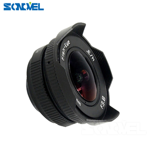 Image 2 - 8mm F3.8 Fish eye CCTV Lens Manual Wide Angle Fisheye Lens Focal length Fish eye Lens Suit For Sony E Mount A7R A7S A6300 A6500