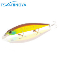 TSURINOYA Minnow Bait 12cm 19 5g Suspending Bass Fishing Lure Diving 1 5m Tungsten Steel Wobblers