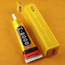 Atacadista 5 Pcs T-8000 50 ml Multiusos Adesivo Epóxi Resina Artesanato Diy Telefone Celular de Tela de Toque De Vidro Super cola t8000