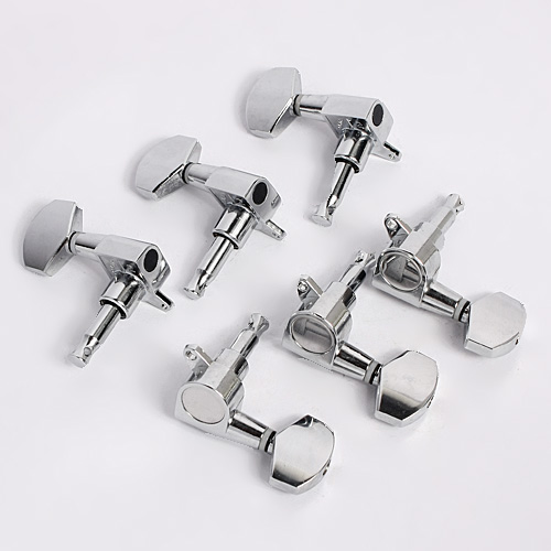 buy guitar tuning pegs 3l3r machine heads for electric acoustic guitar parts. Black Bedroom Furniture Sets. Home Design Ideas