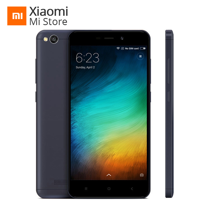 "Original Xiaomi Redmi 4A 4 A 2GB 16GB ROM Mobile Phone 5.0"" 4G LTE Snapdragon 425 Quad Core Smartphone 3120mAh 13MP Smartphone