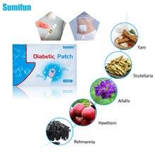 Sumifun 72pcs/12 שקיות סוכרת תיקון להפחית גבוהה דם סוכר סוכרת תיקון תרופות טבעי עשבי תיבול סוכרתי טיח D1277