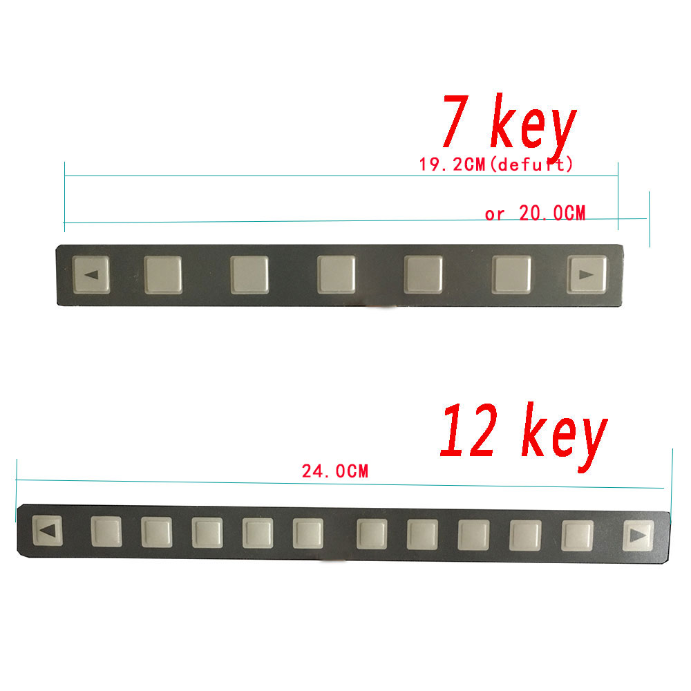 1PC New Membrane Keysheet Keypad A98L-0001-0519 7-Keys for Fanuc