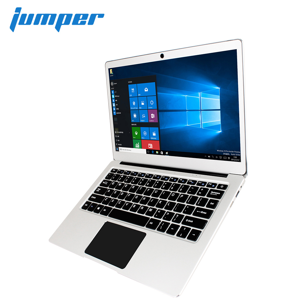 Nova Versão! Jumper EZbook 3 Pro laptop 13.3 IPS Tela 2.4g/g WiFi notebook com M.2 5 SATA SSD slot de Apollo Lago N3450 6 gb 64 gb