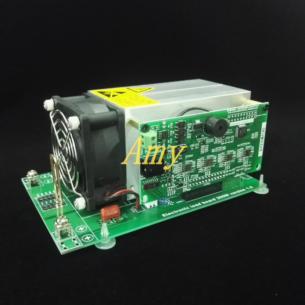 Electronic load constant voltage current power resistance communication control