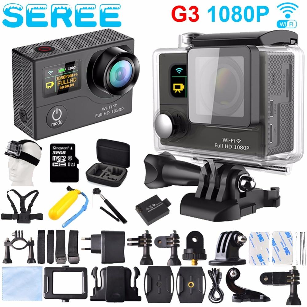 ФОТО Seree G3 WIFI control Actiom Camera HDMI 1080P 2