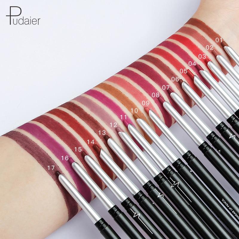 1pc Matte lipstick Lipliner Lip Pencil Waterproof Lip Liner Pencil Lady Beauty Makeup Tool Lip Liner Pencil women/'s Makeup