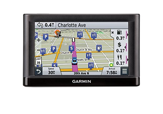Garmin C255LMT <font><b>GPS</b></font> Navigators System with Spoken Turn By Turn Directions Preloaded Maps and Speed Limit Displays