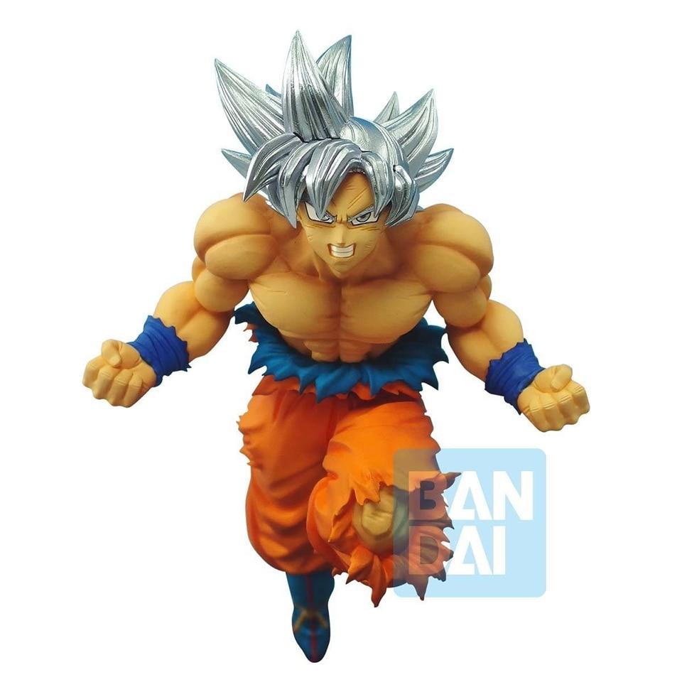 Tronzo Original Banpresto Dragon Ball z-battle Figure Goku Ultra Instinct PVC Figurine modèle Jouets SSJ Goku Figurine Jouets