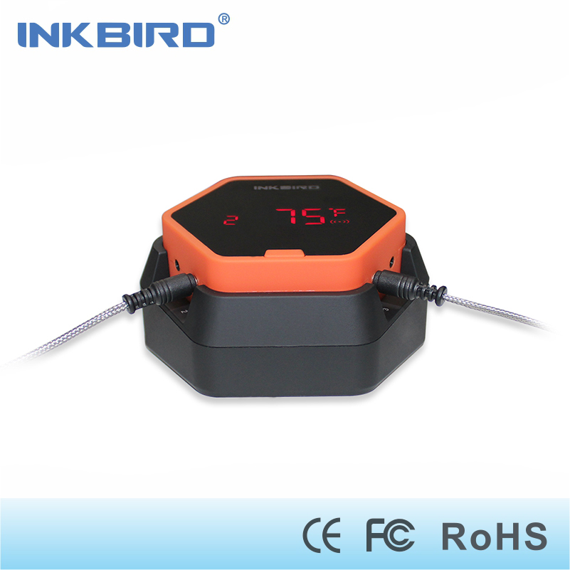 Inkbird IBT-6X Digital Food Cooking Bluetooth Wireless BBQ Thermometer With Two Probe For Oven Meat Grill Smoking BBQ Free APP цены