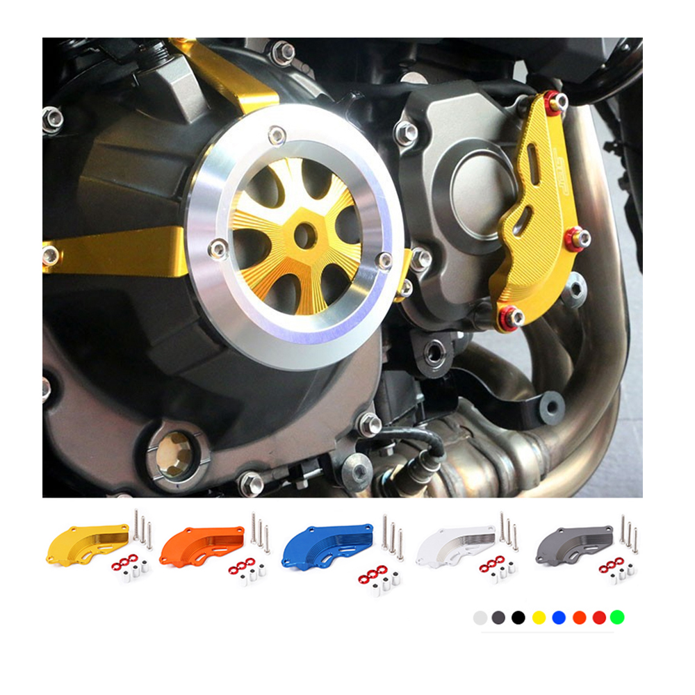 Motorcycle Accessories Engine Protector Cover Small Front Cover Billet Right Engine Case Guard Cover For Kawasaki Z800 2013-2016 meziere wp101b sbc billet elec w p