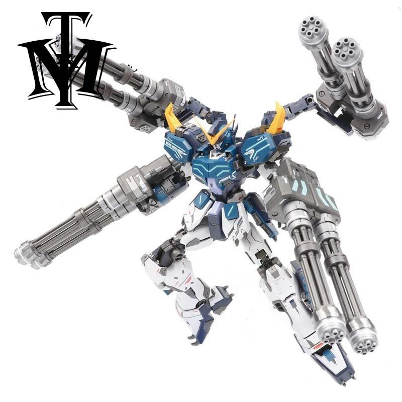 Kids Toy Assemble Robot Action-Figure Heavy-Arms Gundam Custom MG Super-Nova Anime Original