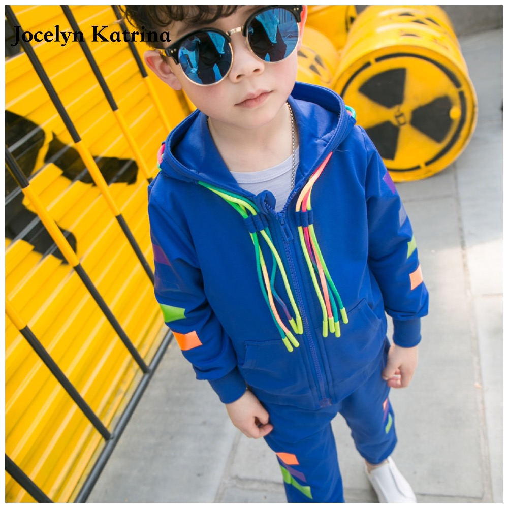 Jocelyn Katrina Autumn Style Infant Clothes Baby Clothing Sets Newborn Baby Boy Clothes Hooded Tops+Long Pants 2pcs Outfits Set baby boy girl clothing sets 2pcs suits tops pants infant newborn baby boy s clothes set cotton letter lazy days outfits