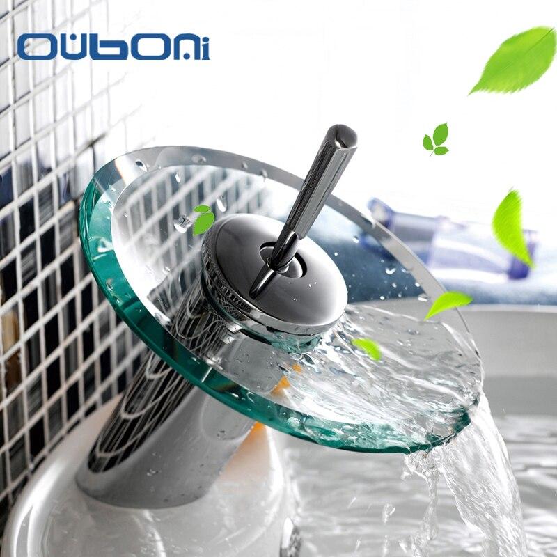 Bathroom Faucet Glass Handles online get cheap bathroom faucet with glass handles -aliexpress