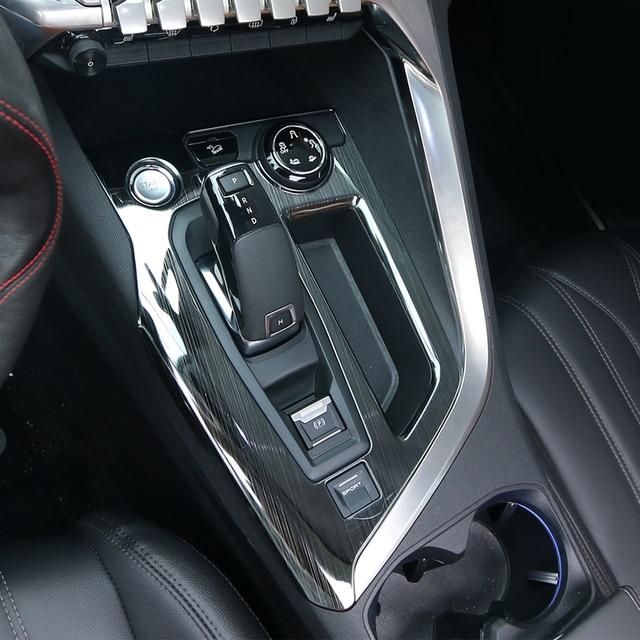 Ajuste para 2017 peugeot 3008 5008 gt l nea interior accesorios electr nico frenos de - Accesorios coche interior ...