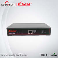 HighTek HK 8104A Industrial 4 Ports RS232 To Ethernet Converter Ethernet To Serial Device Server