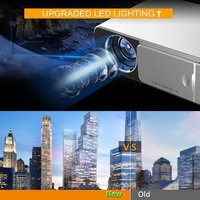 LED HD Projector HDMI USB 1080P Bluetooth WIFI Beamer Home Theater Projector Dropshipping